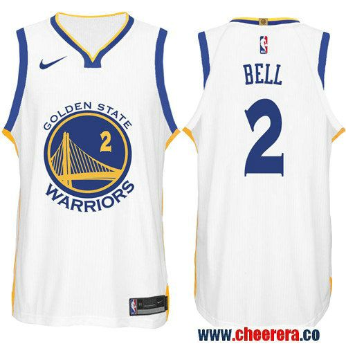 abe385523af ... coupon code nike nba golden state warriors 2 jordan bell jersey 2017 18  new season white