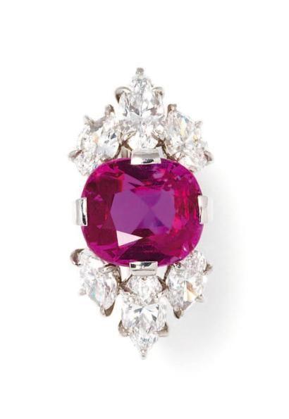 Cartier bague rubis
