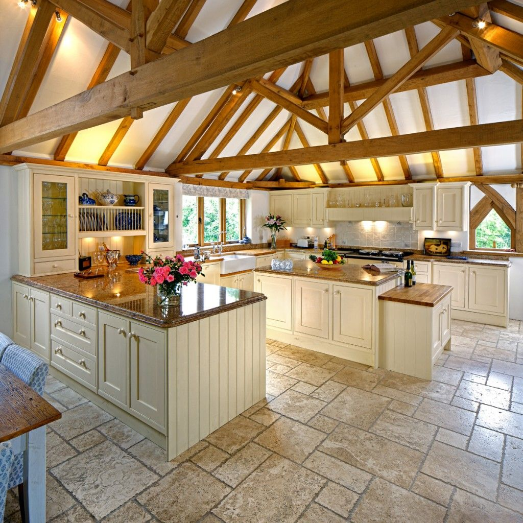 Interior Design Kitchen Traditional: Wish I Had A Kitchen This Big! (Hate The Tile Though, Wish It Was Wood)