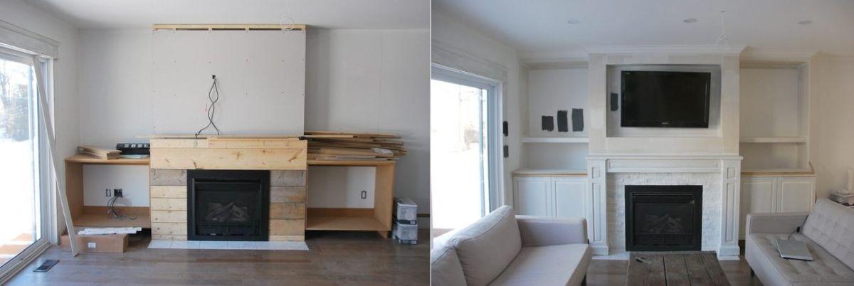 Wie Man Einen Faux Kamin Für Ihr Gemütliches Haus Errichtet, #einen  #errichtet