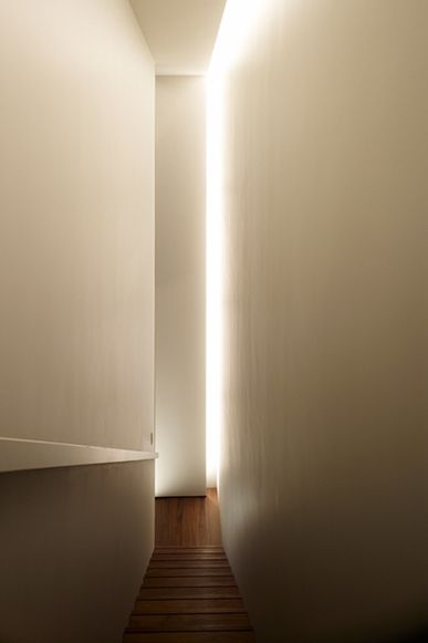 Beautiful lighting inside the Tokyo Towers, Guest room 1 by Works - Curiosity.