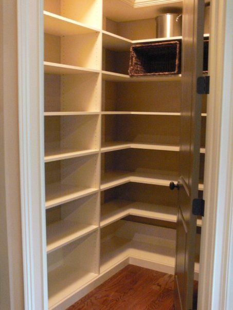 L Shaped Shelves Wrap The Corners. Wonderful Adjustable Shelves To Store  Items Of Varying