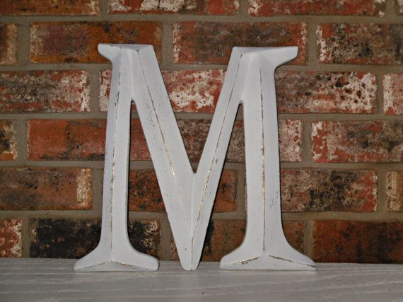 Large Metal Letter M Large Letter M Capital Letter M Wall Letter  Initials  Photo