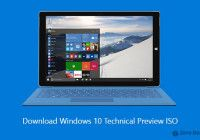 How To Download Windows 10 Technical Preview Iso Windows 10 Tutorials Windows 10 Funny Lock Screen Wallpaper