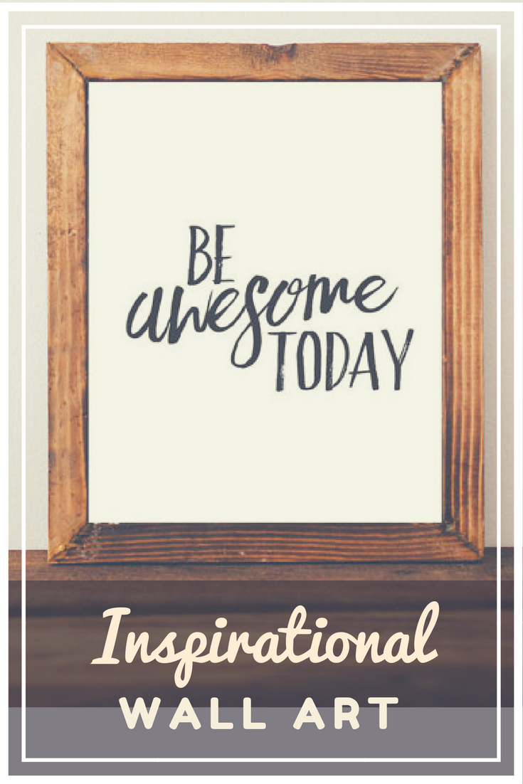 Printable Art Be Awesome Today Printable Quote Inspirational Quote