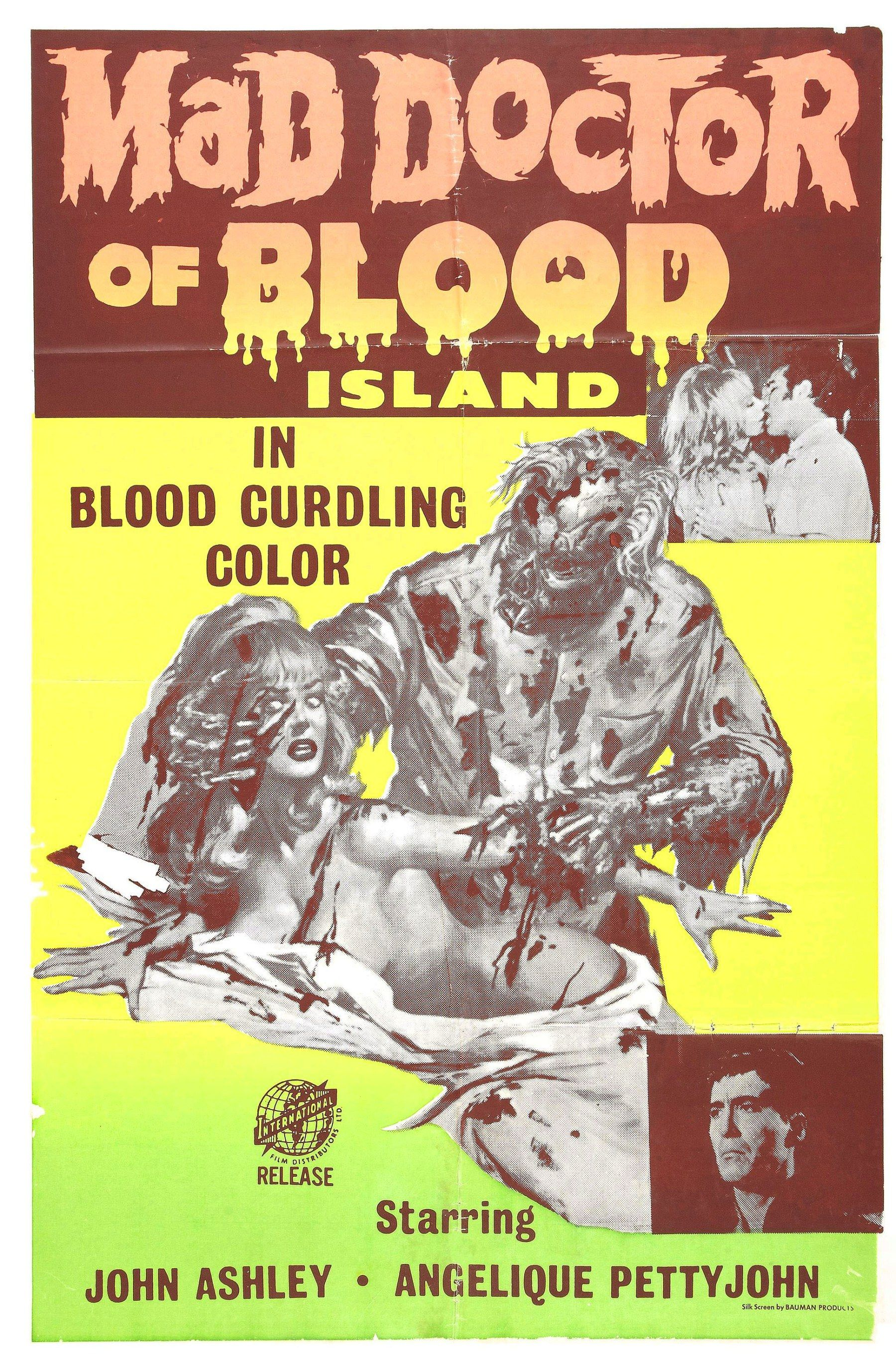 Mad Doctor Of Blood Island Philippines Usa 1968 Horrorpedia