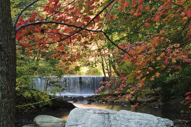 Autumn Falls Most Beautiful Places Waterfall Beautiful Places In The World