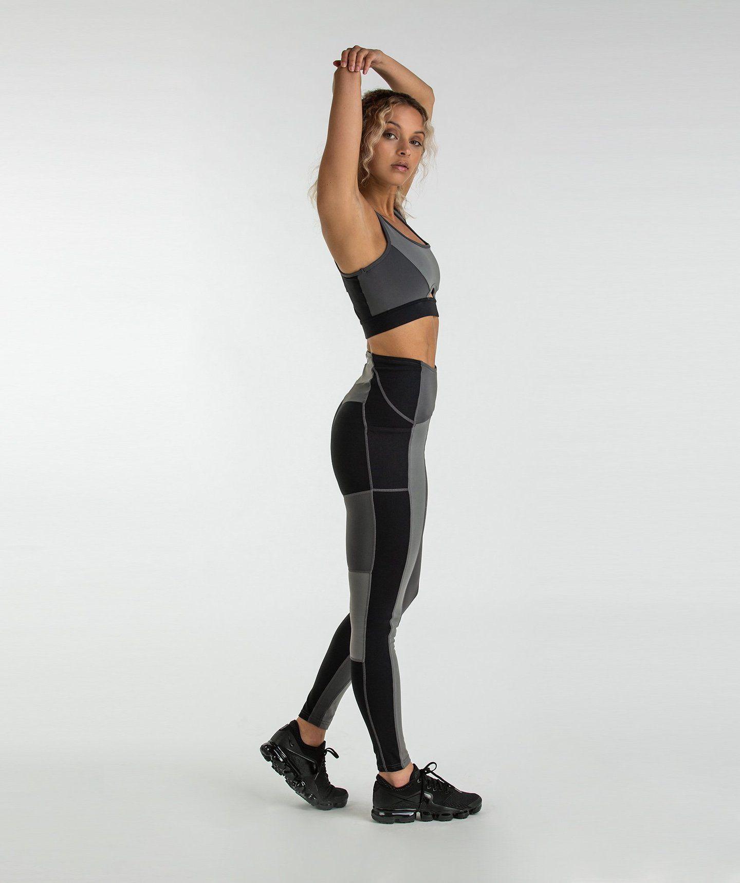 Gymshark Tonal Block Leggings Black Leggings