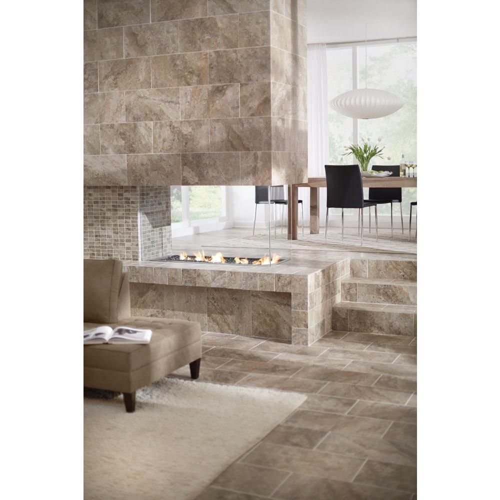 Marazzi travisano bernini 12 in x 24 in porcelain floor and wall marazzi travisano bernini 12 in x 24 in porcelain floor and wall tile dailygadgetfo Gallery