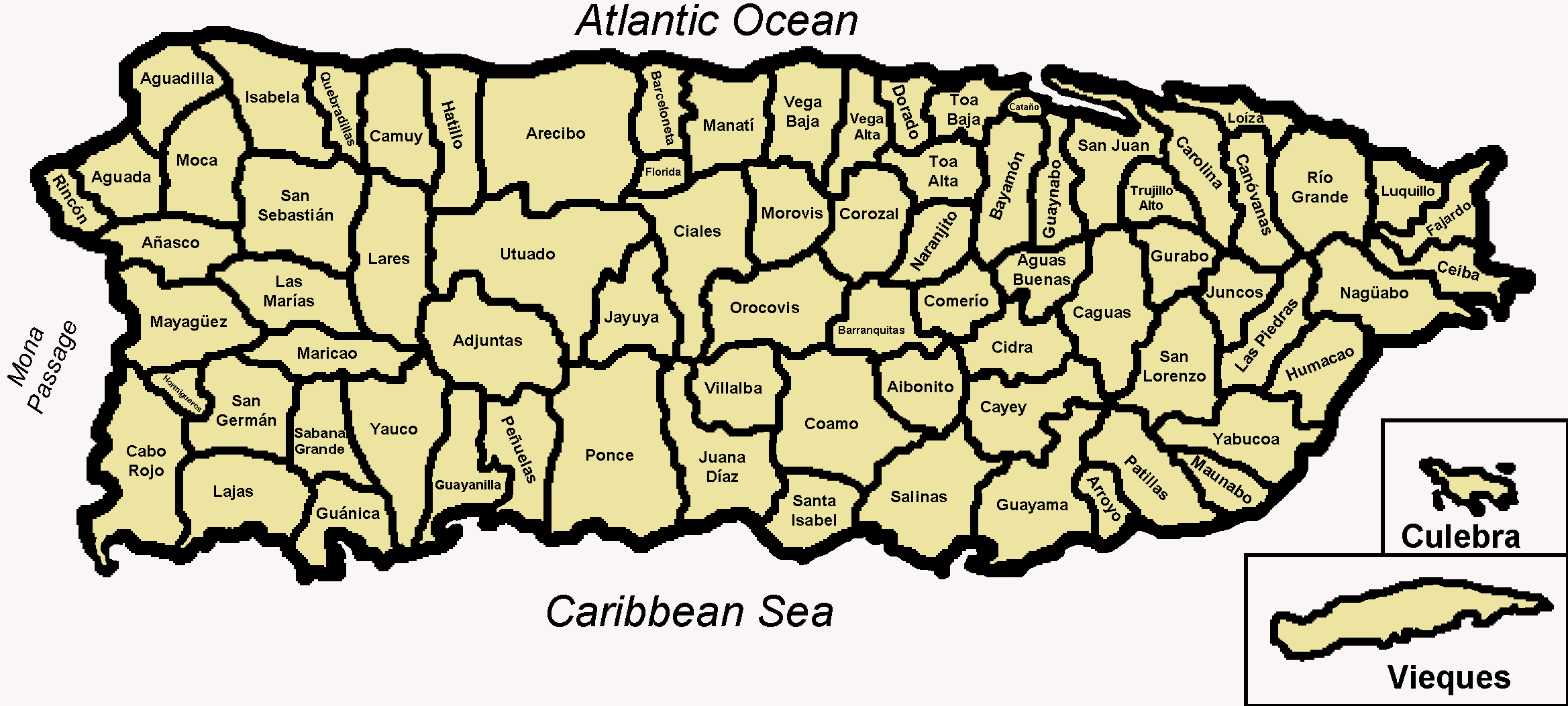 Pictures Of Puerto Rico Fichier Map Of The 78 Municipalities Of Puerto Rico Png Wikipedia Puerto Rico Map Puerto Rico Island Puerto Rico