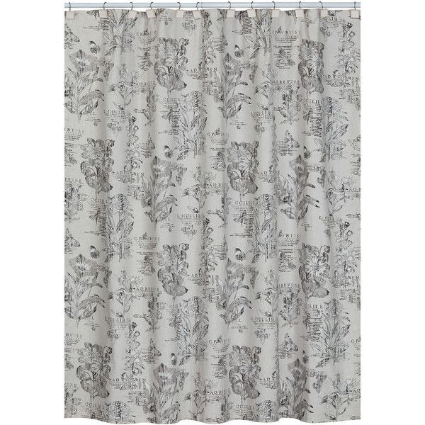 Creative Bath™ Sketchbook Botanical Toile Shower Curtain (125 PLN ...
