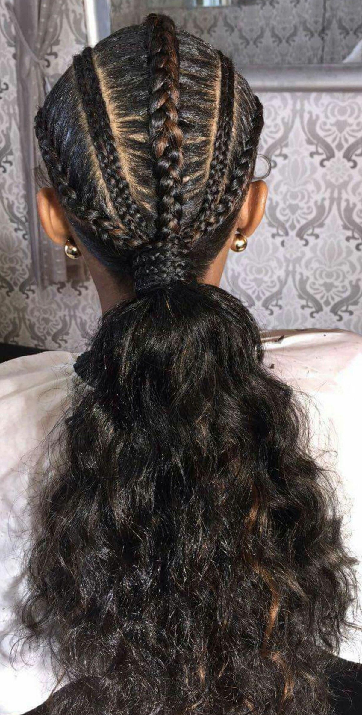 34++ African american braided hairstyles with bangs trends