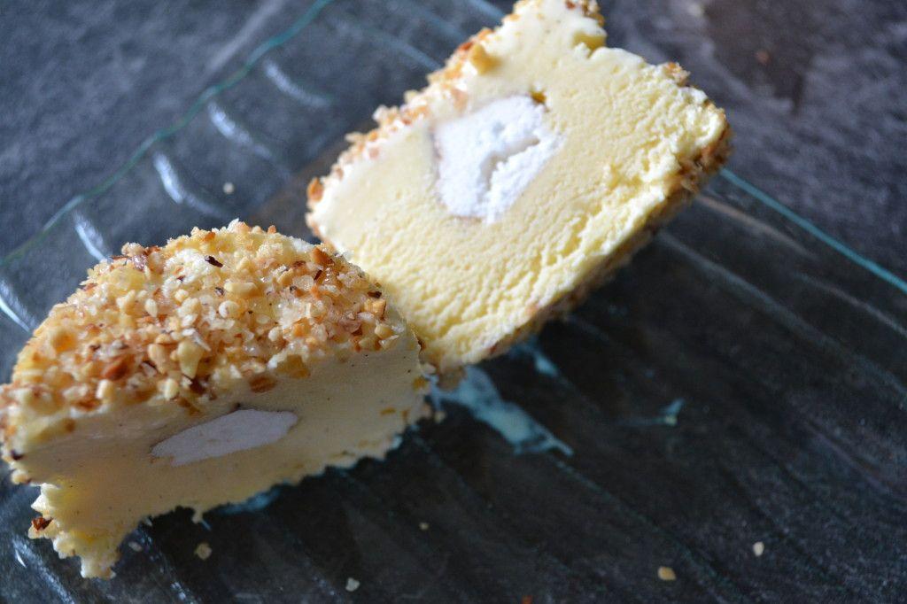 Glace mystere au thermomix fondant et croustillant - Recette dessert rapide thermomix ...