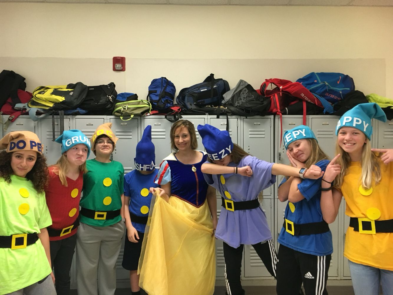 The 7 Dwarves!!! So much fun for spirit week or any