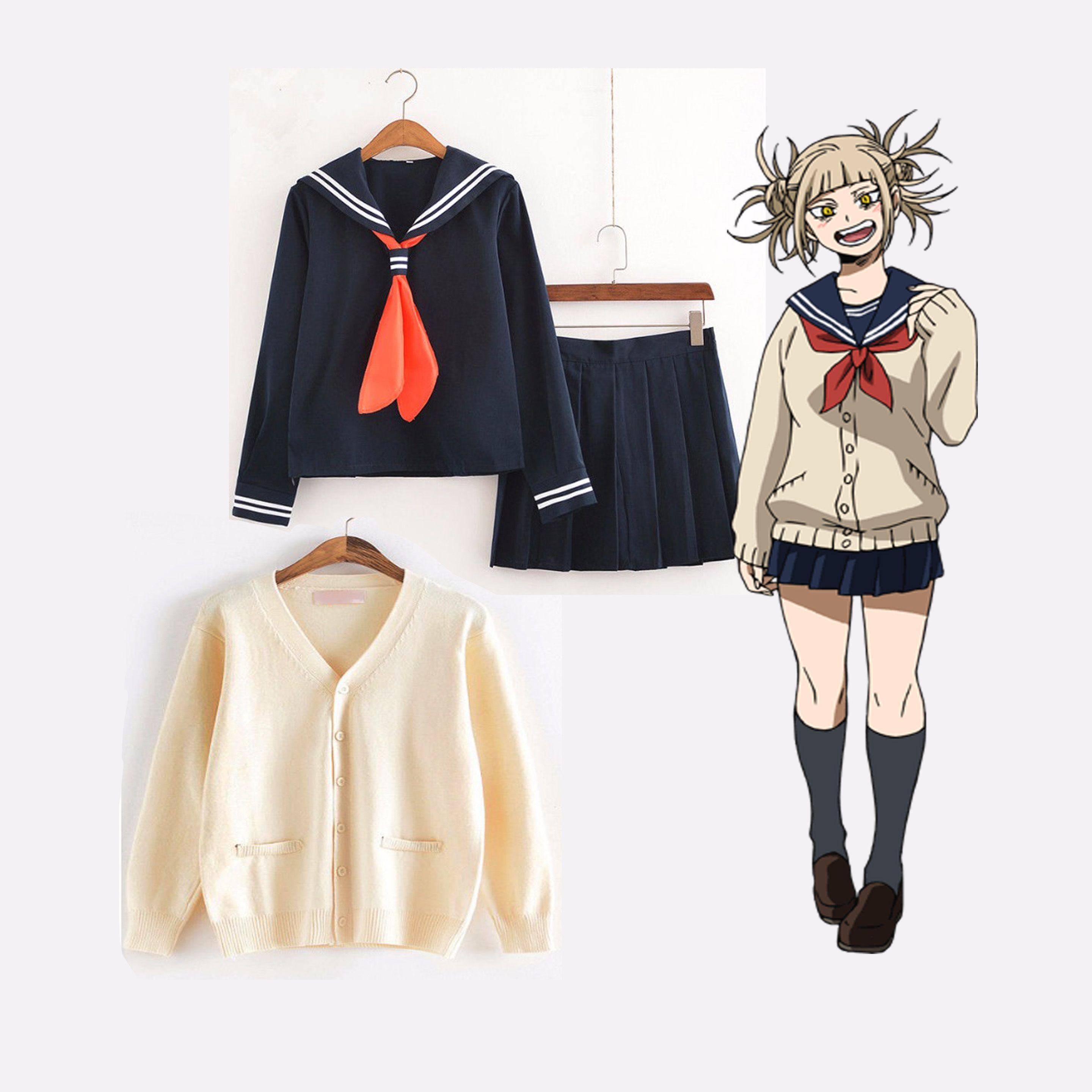 Boku No Hero Academia Himiko Toga High Quality Authentic Cosplay Outfit Anime Inspired Outfits Cosplay Outfits Fandom Outfits