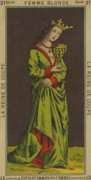 Queen Of Cups Etteilla The Book Of Thoth