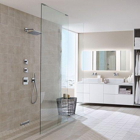 Floor level shower bathroom trend hansgrohe us