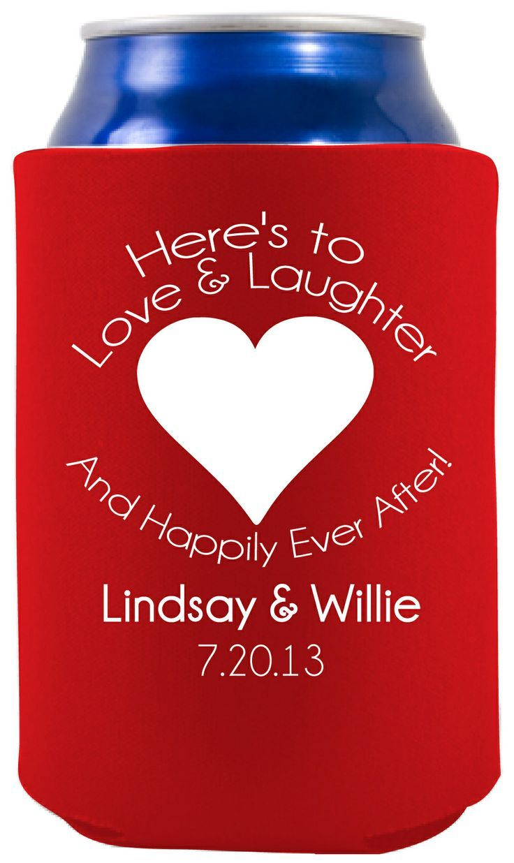 Here\'s to Love & Laughter And Happily Ever After! Wedding Favor ...