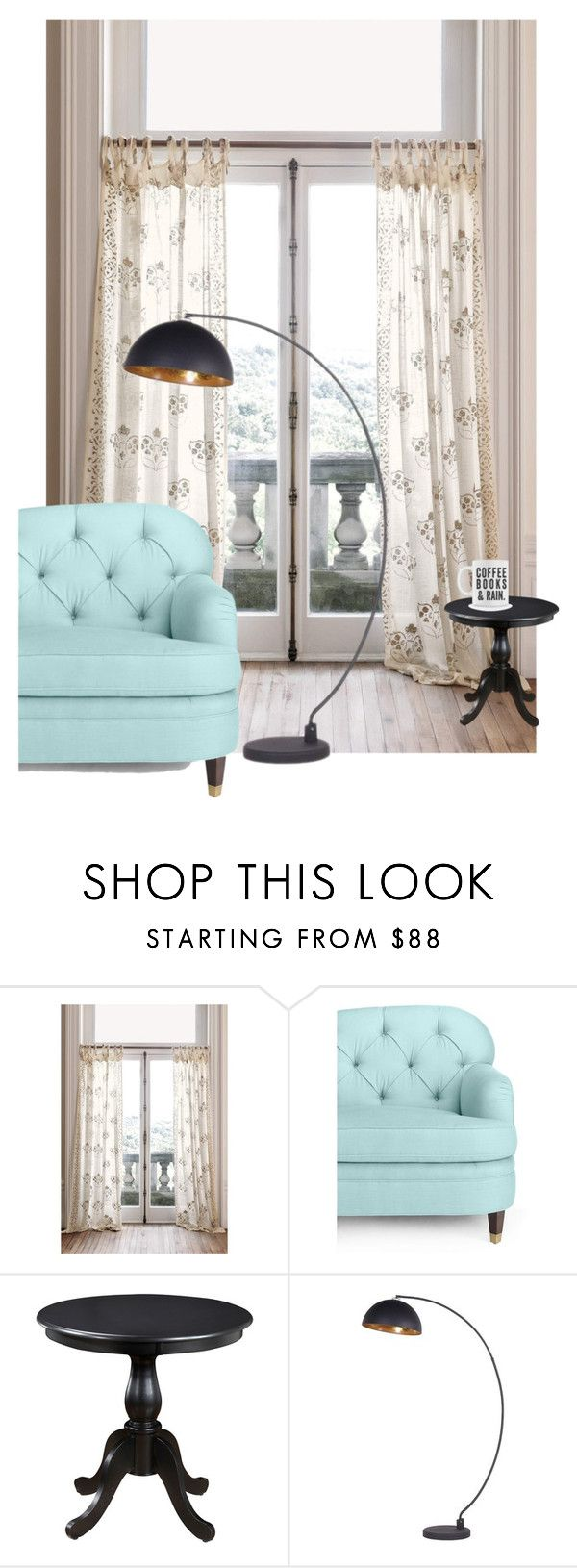 """""""Relax"""" by eleonora199 on Polyvore featuring interior, interiors, interior design, home, home decor, interior decorating, Anthropologie and Kate Spade"""