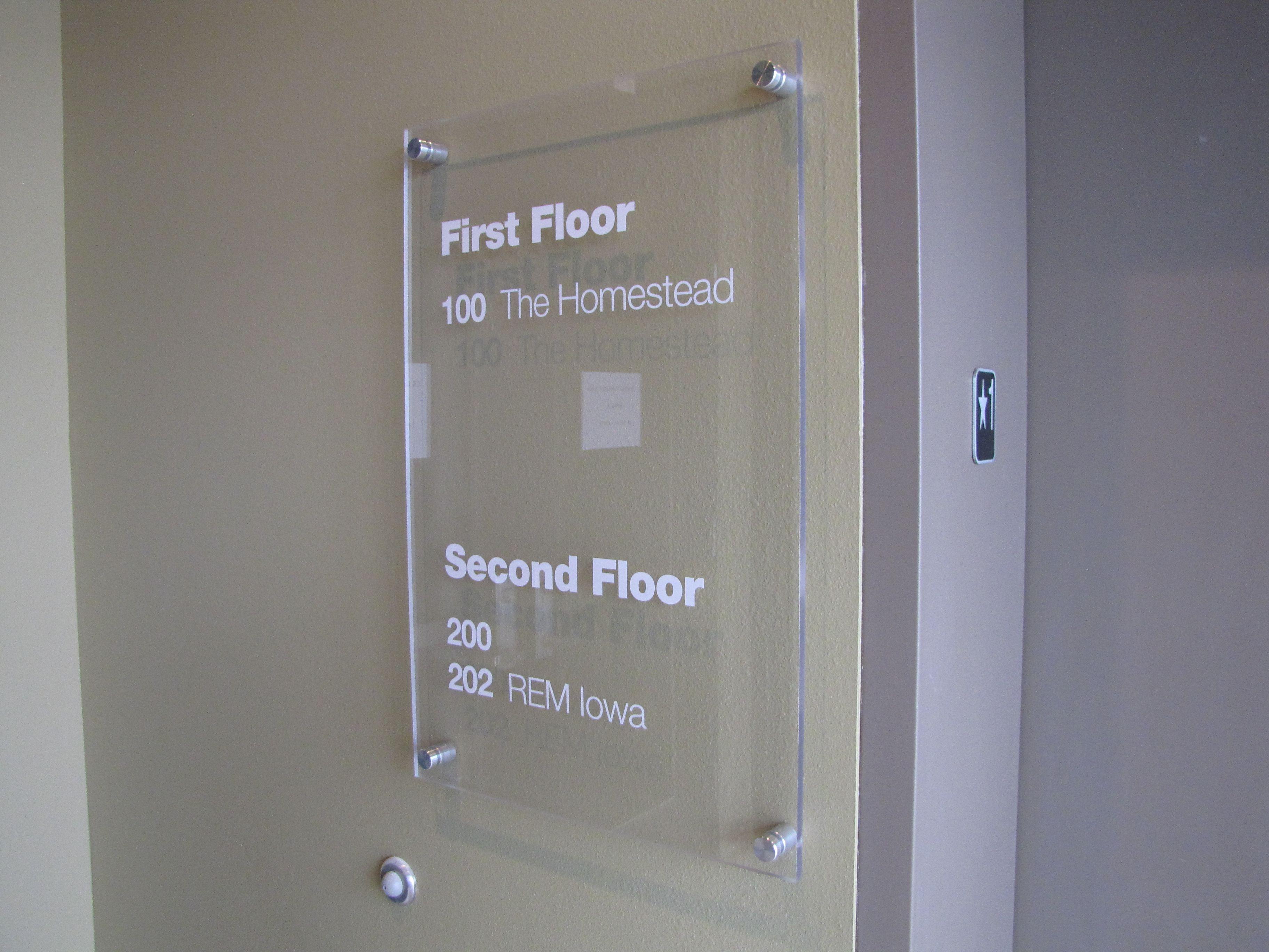 Glass Directory Wayfinding Elevator Sign Signage Design Wayfinding Wayfinding Signage