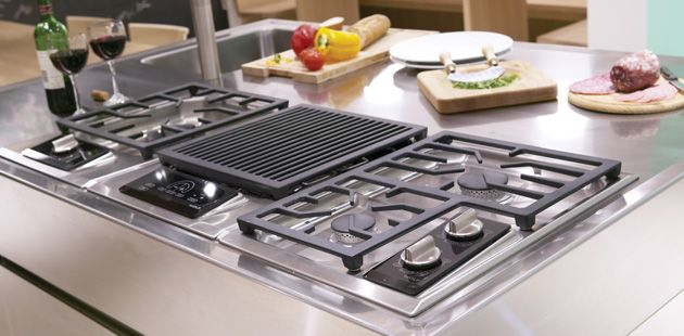 ICBIM15/S Multi-Function Gas Cooktop from Wolf www.subzero-wolf.co ...