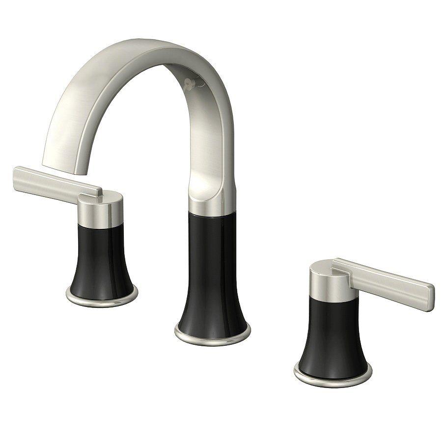 Shop JACUZZI Beckam Brushed Nickel 2-Handle Widespread WaterSense ...