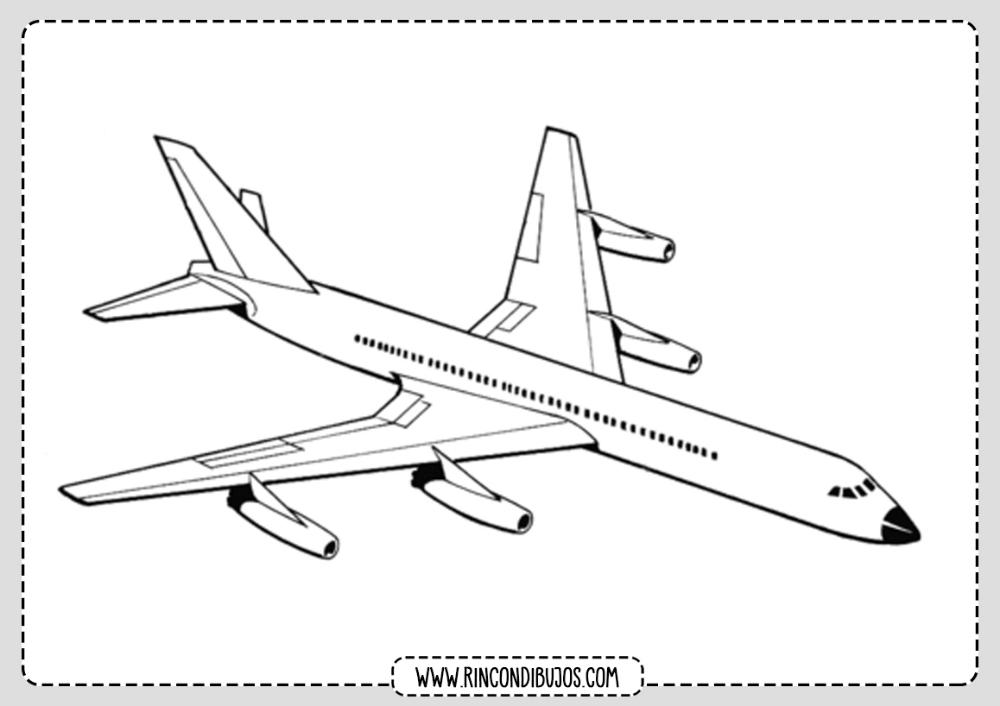 Dibujo De Avion Volando Colorear Rincon Dibujos Avion Dibujos Aviones Volando Aviones
