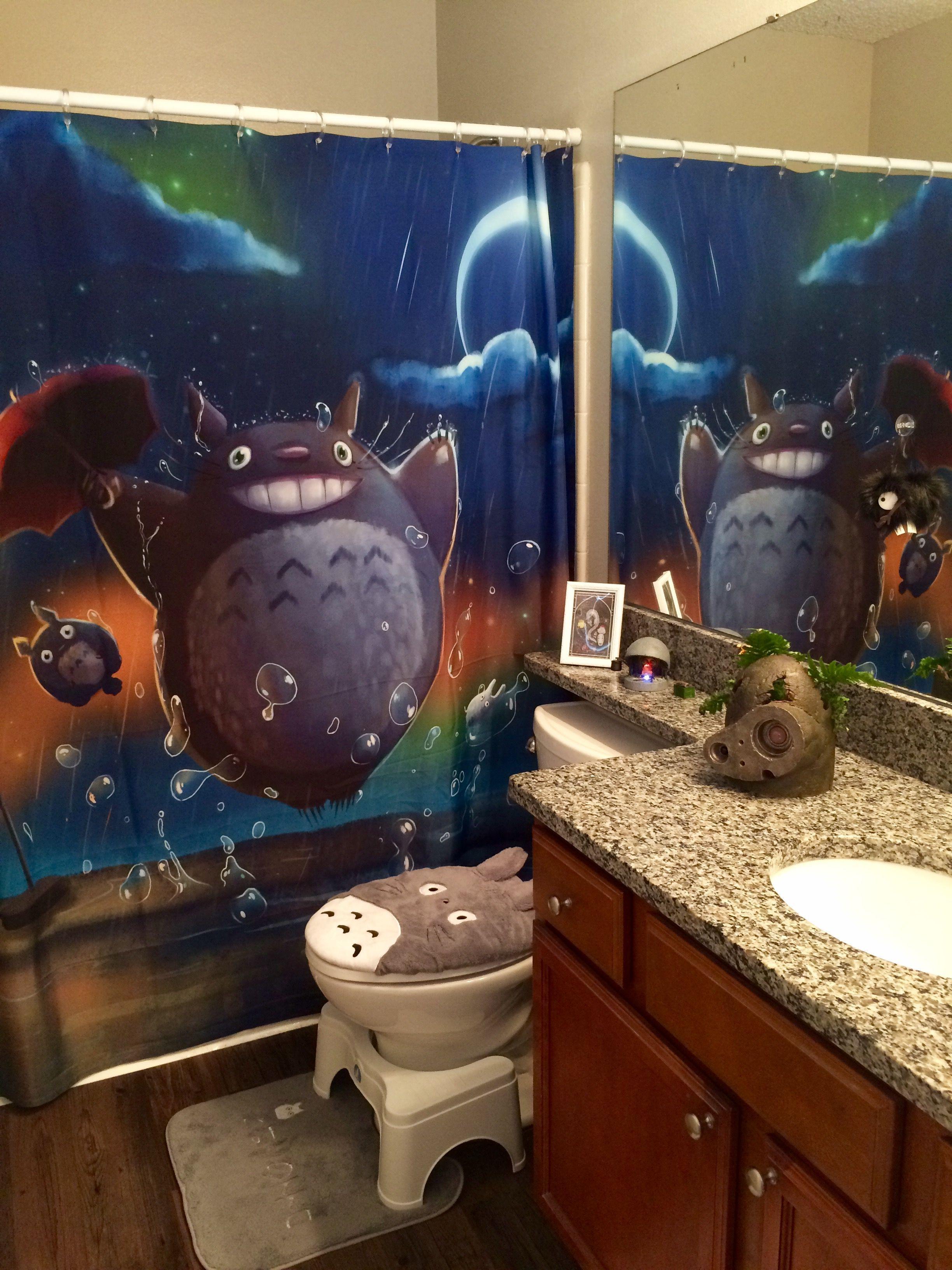 Anime Themed Bathroom Google Search Kawaii Room Totoro
