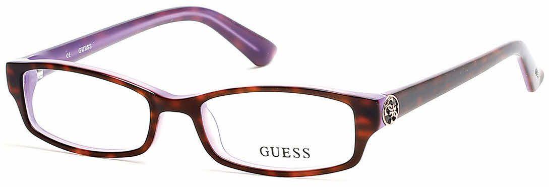 5709032504 Guess GU2526 Eyeglasses Prescription Lenses