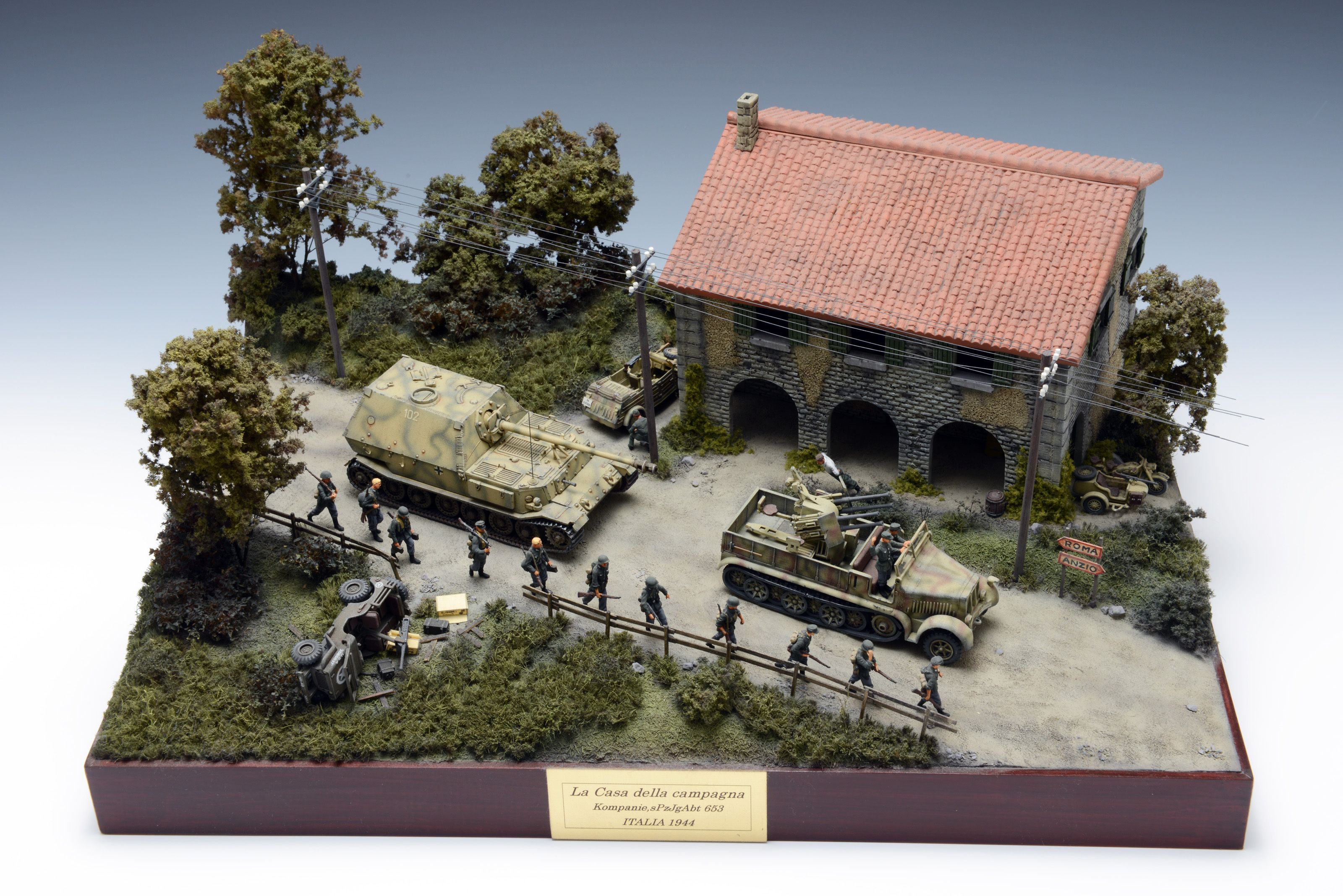 Pin By Serg Zabolotskij On Dioramas Military Military Diorama Model Tanks Paper Tanks