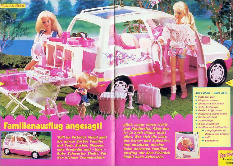 barbie picnic van 1995 coolest ever took this camping. Black Bedroom Furniture Sets. Home Design Ideas