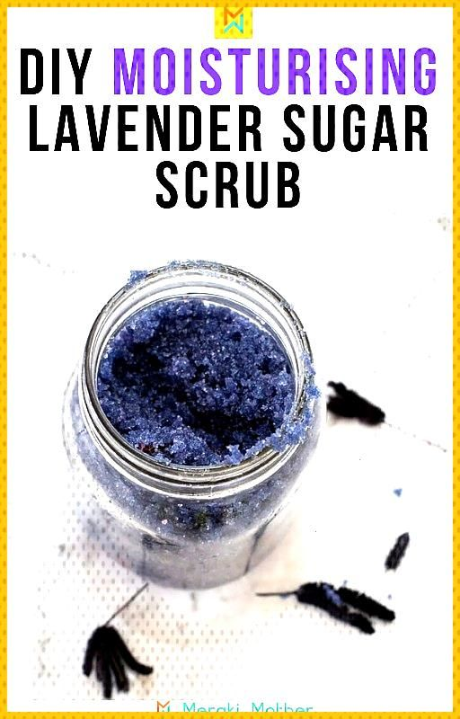 Relaxing Lavender Sugar Scrub Incorporate this all-natural DIY lavender body sugar scrub into your