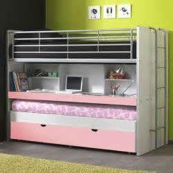 suche hochbett weiss rosa schreibtisch trio ansichten 23553 - Coolste Etagenbetten Mit Schreibtisch