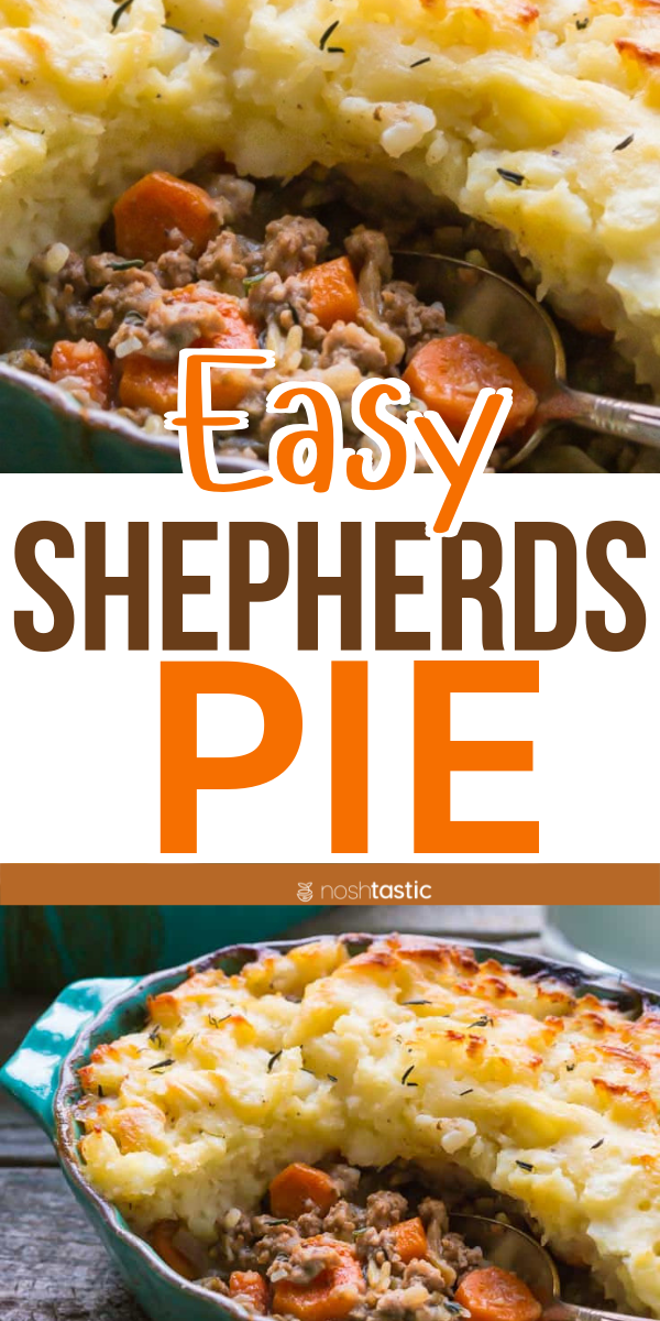 Easy Shepherd S Pie With A Traditional Recipe This Is Classic Comfort Food At Its Best And This R Shepherds Pie Whole30 Beef Recipes Shepherds Pie Recipe Easy