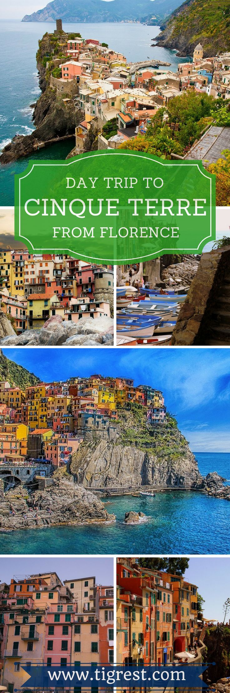 Cinque Terre day trip from Florence with hike from Monterosso to Vernazza - helpful tips how to make the most out of the trip