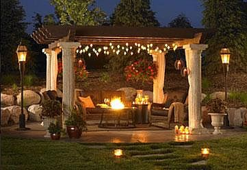Fire Pit Under Pergola Backyard Pergola Dream Backyard