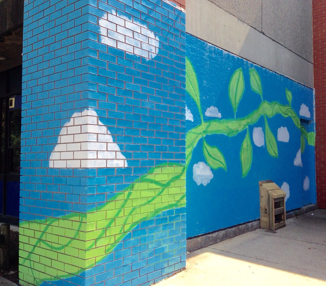 Grade 5 6 Jack And The Beanstalk Mural