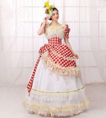 062346397481 Click to Buy    luxury victoria royal dress form royal bridal dress royal  fancy dress women medieval dress princess party clothing  Affiliate