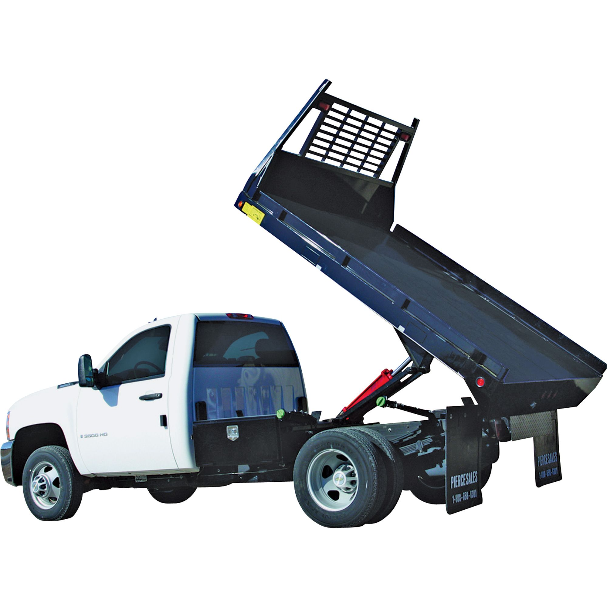Pierce Arrow Flatbed Truck Hoist Kit 7 5 Ton Capacity 8ft To 12ft Flatbed Lifted Trucks Pickup Trucks Jacked Up Trucks