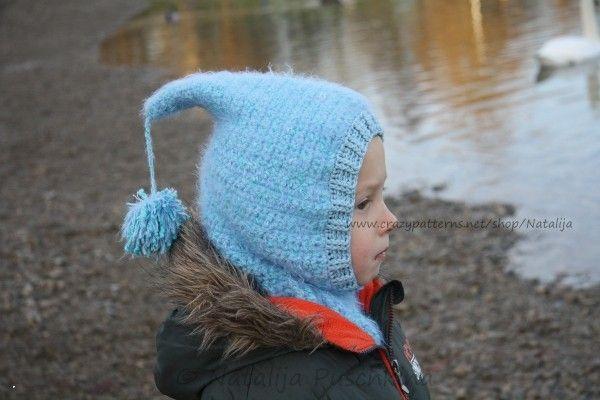 Schal-Mütze für Kinder häkeln - DIY-Mütze ✓✓ | Mützen | Pinterest ...