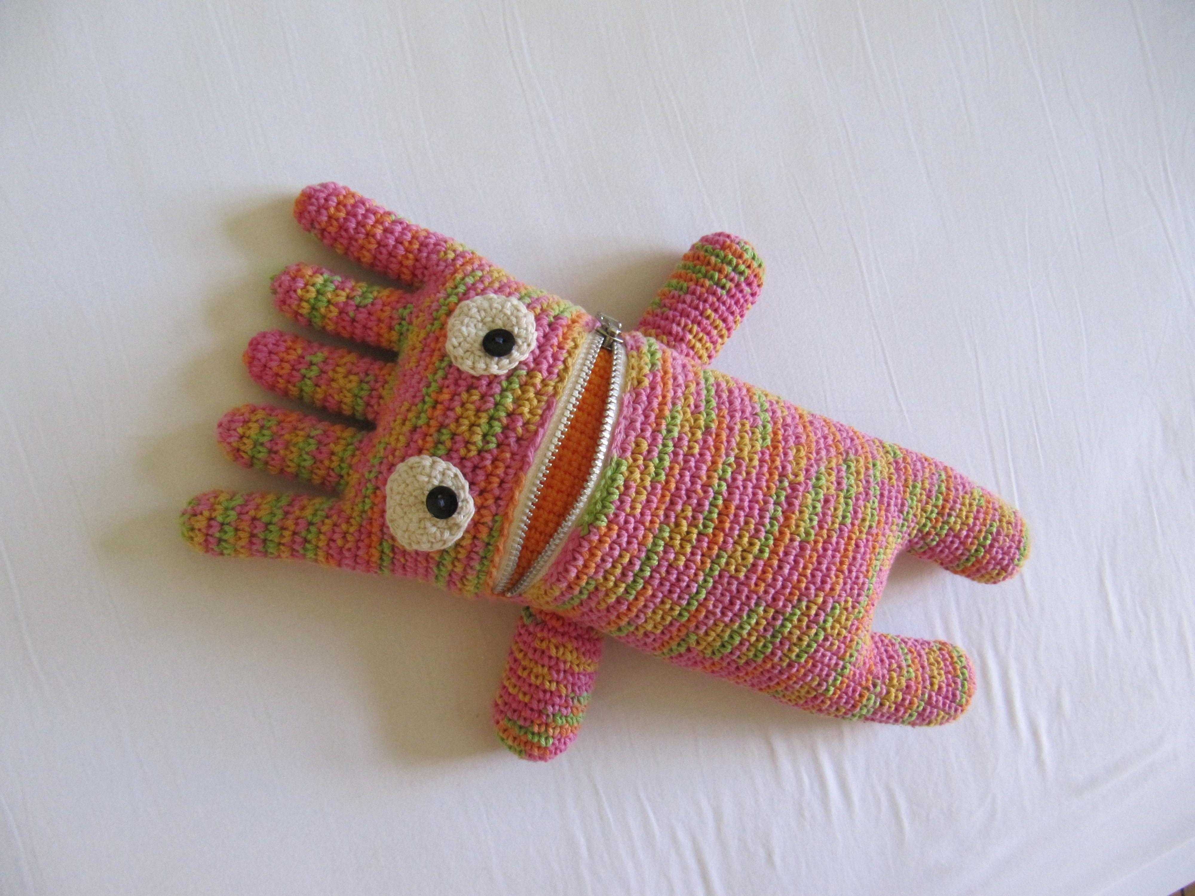 The Crochet Monster: Boo Boo | Pinterest | Sorgenfresser, Häkeln und ...