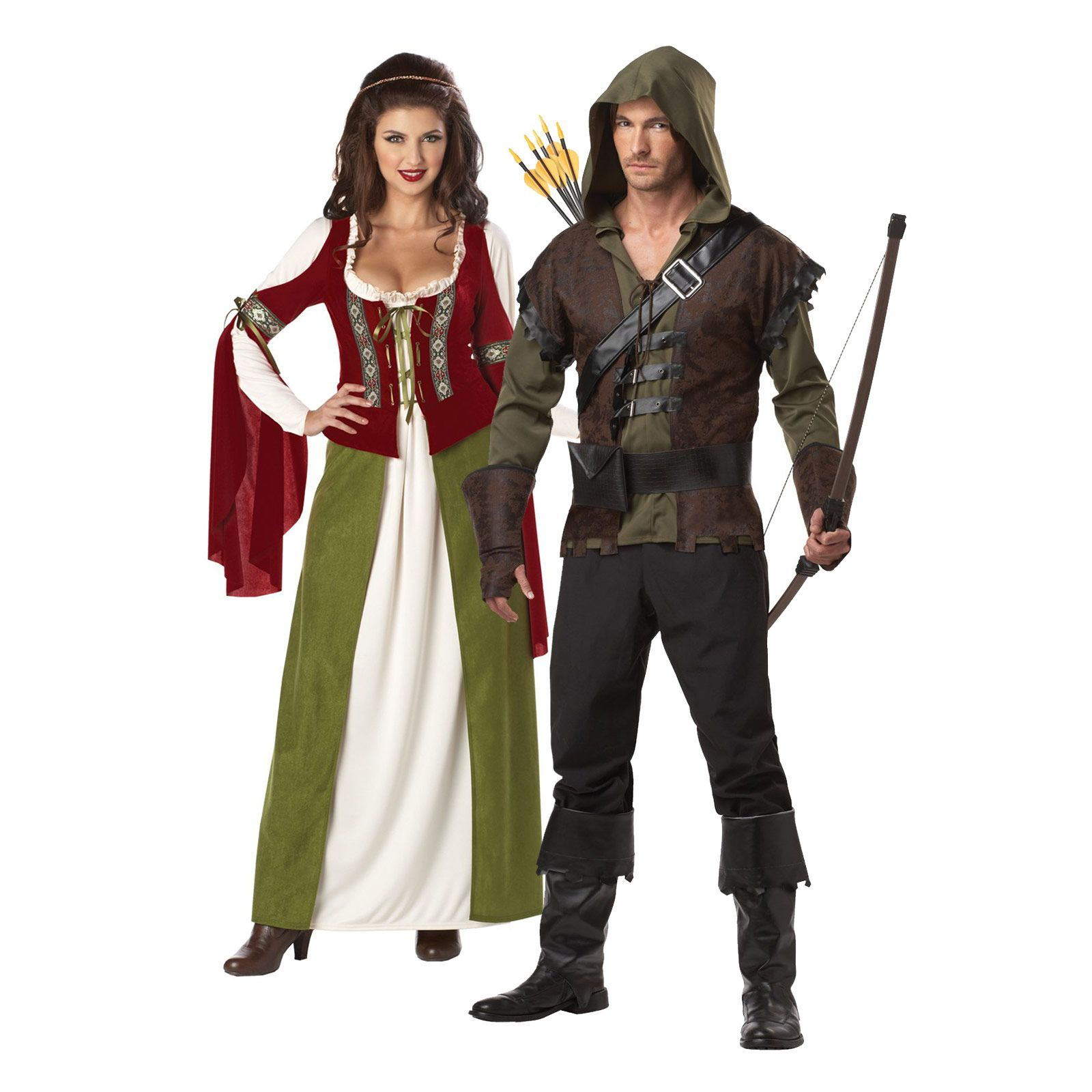 Robin Hood & Maid Marion Halloween couples costume idea | Top ...