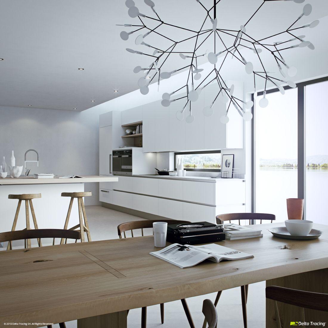 Diseño de cocinas modernas: iluminación de interiores | Lámparas ...