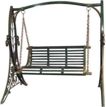 Beautiful Wrought Iron Swing | Garden Swing CS#3   Creative Steel