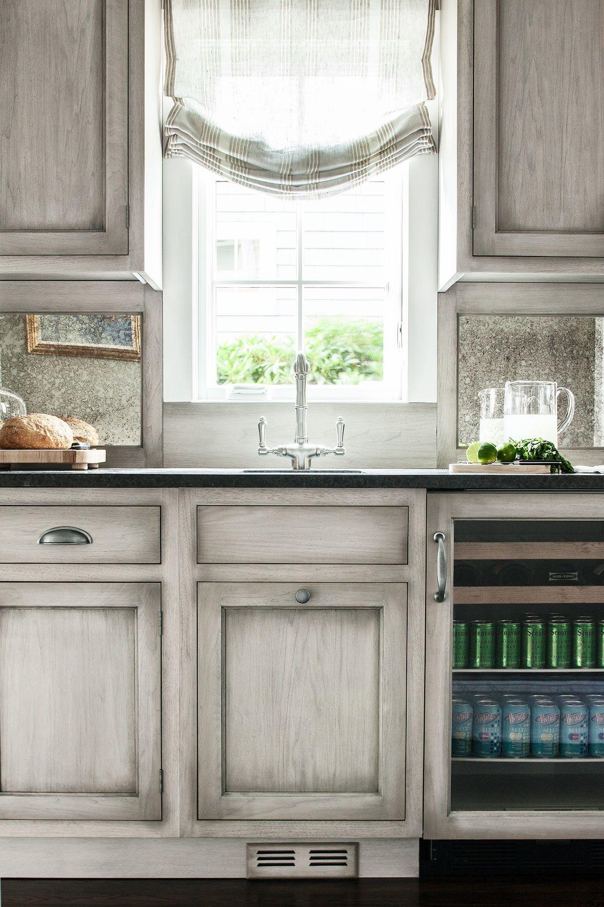 Award Winning Kitchen Designer Heidi Piron Creates Hand Crafted Kitchens And Customized Spaces F Grey Kitchen Designs Glazed Kitchen Cabinets Home Kitchens