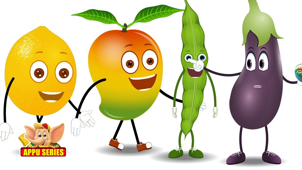 Lets Learn Fruits & Vegetables - Preschool Learning | Education for ...