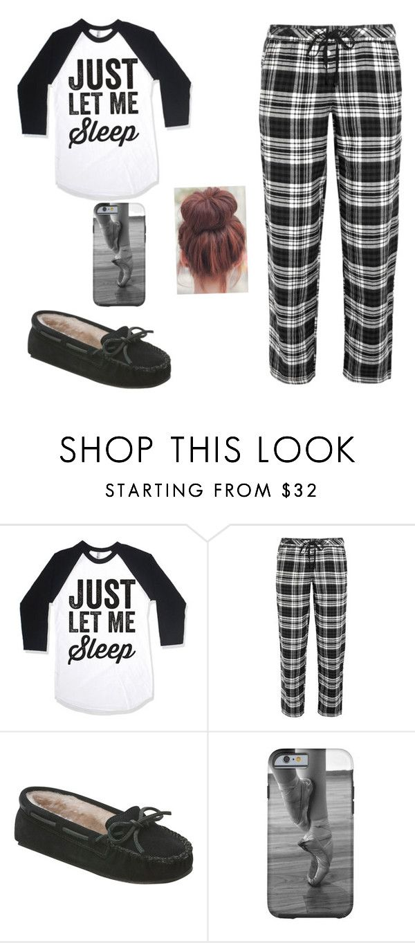 """Pajamia outfit"" by kk132 ❤ liked on Polyvore featuring DKNY, Minnetonka, women's clothing, women's fashion, women, female, woman, misses and juniors"