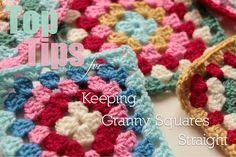 Crochet Corner: Keeping Granny Squares Straight