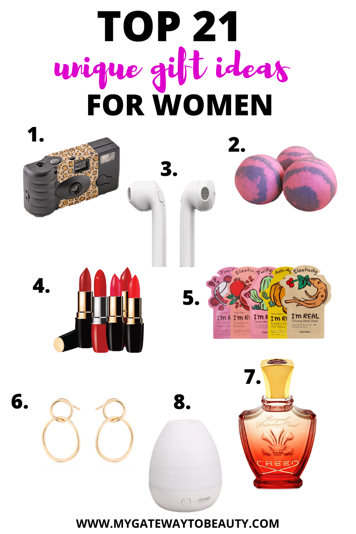 TOP 21 UNIQUE GIFT IDEAS FOR WOMEN WHO HAVE EVERYTHING