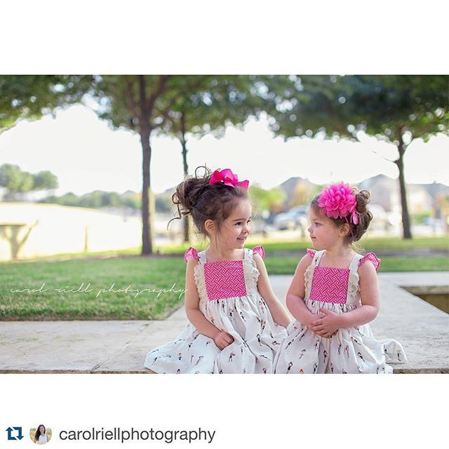 The tousled buns, the sweetness of new friends, the tiny ballerinas, oh and the five pink donuts they downed immediately before this picture ... I can barley handle the cuteness! @andrea2220 @carolriellphotography #springsneaks #spring #flowersackstyle #flowersackdresses #handmade #ballet #ballerina #lace #recitalready #love #friendship #girlsclothing #kidzootd ballet, ballerina dress, ballet dress, girls clothing, spring dress, spring clothes, ruffles, flutter sleeve, lace